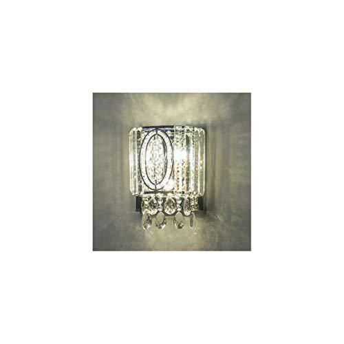 KOSILUM - Applique murale luxe cristal LED - Massalia - Lumière Blanc Chaud Eclairage Salon Chambre Cuisine Couloir - - 1280 lm - LED intégrée - IP20