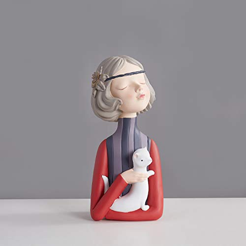 Moderna chica joven burbuja figuras resina arte decoración del hogar accesorios cumpleaños boda regalo hadas mesa decoración