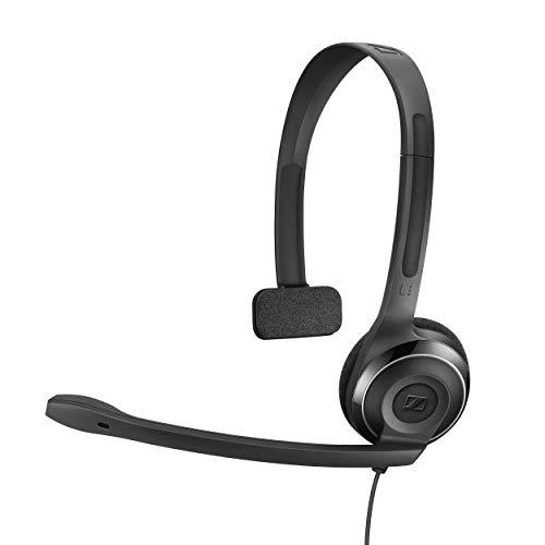 Sennheiser PC 131 - Auriculares de diadema abiertos (Con micrófono),...
