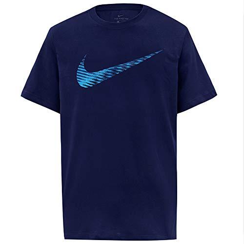 NIKE CK4256-492 Camiseta de Manga Corta para Hombre, Blue Void, 3XL-T