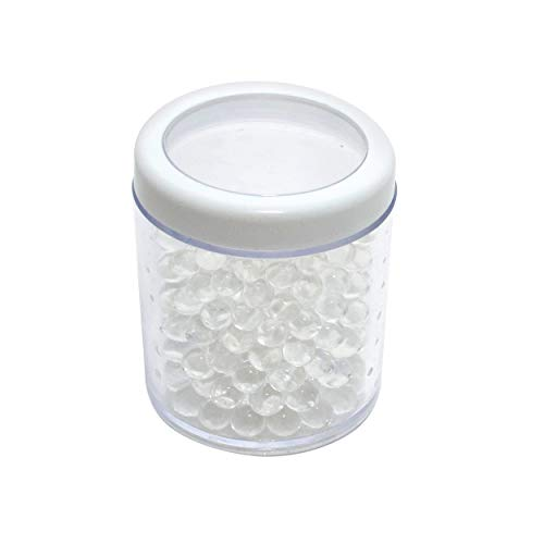 69Bourbons Humidifier Jar - Gel Humidifying Crystal Beads for Cigar Humidor - Maintains 70% RH for Up to 150 Cigars - Humidification Control Supplies & Accessories for Tobacco Smokers - Clear, 4oz