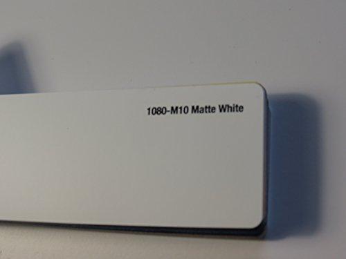 3M (28,19€/m2) Scotchprint Wrap Film Series 1080 Matt Weiß gegossene Autofolie 100 x 152 cm Zuschnitt
