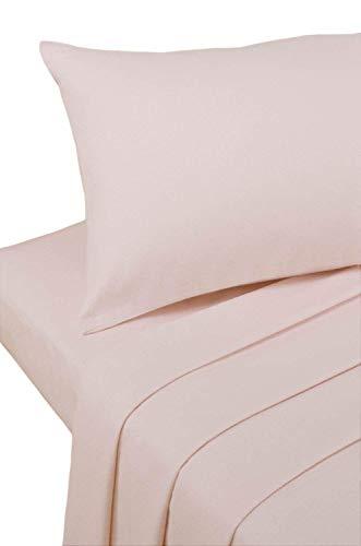 Bedding Heaven Spannbetttuch, Perkal, 60 cm, Pink Ideal für Etagenbetten, kleine Einzelbetten und Wohnwagen.