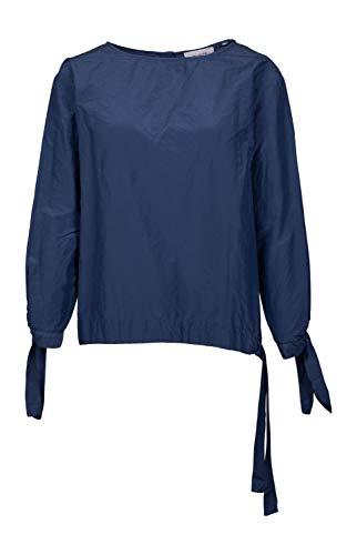 Aglini Damen Bluse Kristal blau - 38