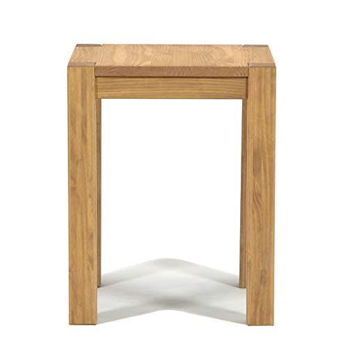 Naturholzmöbel Seidel Esstisch 60x60cm Rio Bonito Farbton Honig hell Pinie Massivholz geölt und gewachst Holz Tisch Küchentisch für Esszimmer Wohnzimmer Küche, Optional: passende Hocker