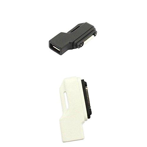 #N/A/a 2 Unidads Adaptador de Cabezal Tipo C Magnéticas Cargador Compatible con