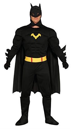 Fiestas Guirca Black Hero Adulte l 52-54 Costume pour Adulte