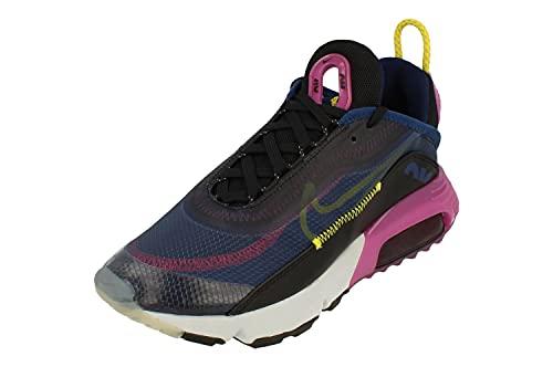 Nike Zapatillas de running para mujer, Azul aspiradora/cromo amarillo-negro, 36.5 EU