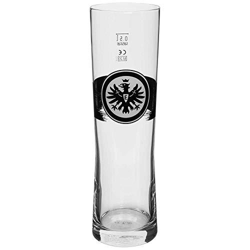 Eintracht Frankfurt Weizenbierglas - Logo - Glas, Bierglas SGE - Plus Lesezeichen I Love Frankfurt