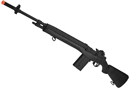 Evike CYMA Full Size M14 Airsoft AEG Rifle - Black - (31855)