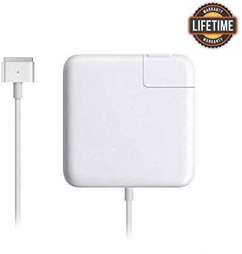 Mac Book Pro Charger, 60W Magsafe 2 T-tip Power Adapter Charger Compatible with MacBook Charger/Mac Book Air( After Late 2012)