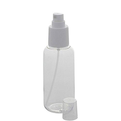 Leere Kosmetik Gelspender Kosmetex 100ml Pumpflasche für Gele, Lotionen, Flüssigkeiten, 100 ml mit Spender