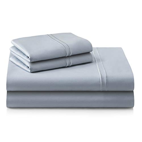 Best Deals! MALOUF MAS6QQSMSS Supima Premium Cotton Sheets-100 Percent American Grown Long Staple-Sa...