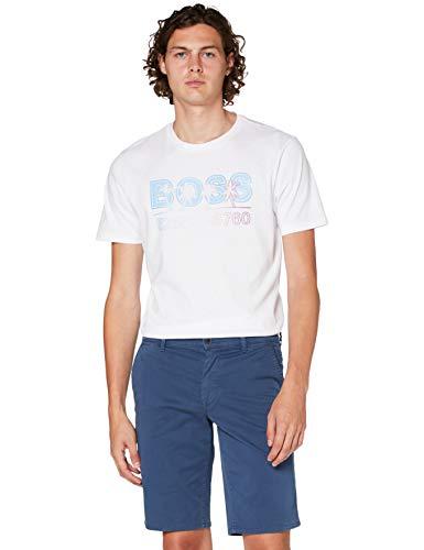 BOSS Mens Schino-Slim Shorts, Navy (414), 36