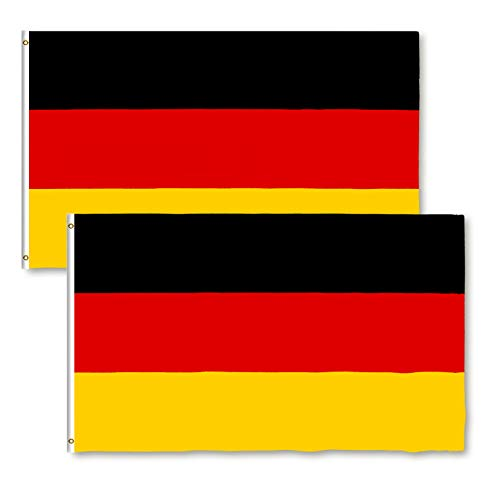 Star Cluster 90 x 150 cm / 70 x 100 cm Frankrijk, Duitsland, België, Canada, Zwitserland, Israël, Nederland vlag en vlag 2 Stk. DE 70 x 100 cm