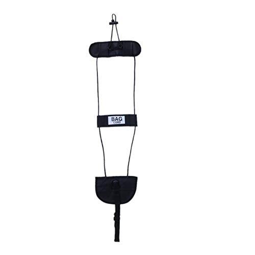 1pc Equipaje Maleta Maleta Bolsa de accesorios de viaje Mochila de viaje Correa ajustable Cuerda Correa Añadir bolsa Organizador Caja de almacenamiento