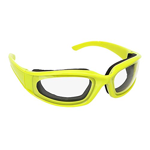 iTimo - Gafas de protección para cortar cebolla, protector ocular para corte de verduras, protector de ojos, protectores faciales, gafas de seguridad para barbacoa, accesorios de cocina