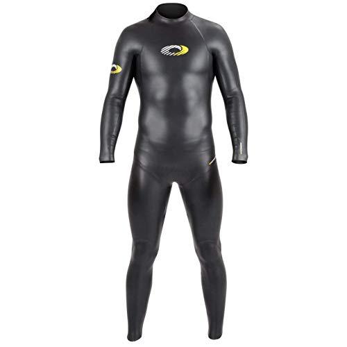 Osprey Herren Jacke Nylon Full Länge Triathlon Neoprenanzug, Schwarz, X-Large
