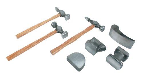 Mannesmann - M20700 - Juego para desabollar de 7 piezas, de acero forjado