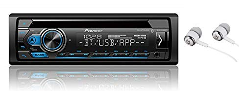 Pioneer DEH-S4100BT in Dash CD AM/FM Receiver with MIXTRAX, Bluetooth Dual Phone Connection, USB, Spotify, Pandora Control, iPhone and Android Music Support, Smart Sync App