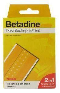 Betadine Desinfecterende Pleisters 2 in 1