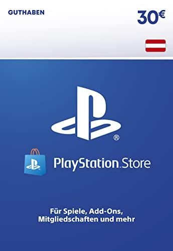 PSN Guthaben-Aufstockung   30 EUR   österreichisches Konto   PS5/PS4 Download Code