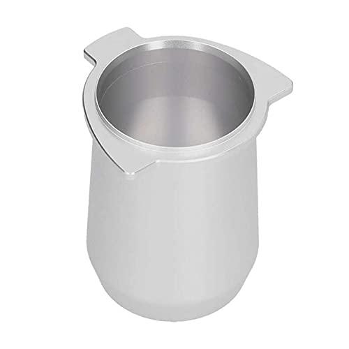 HMEILI Taza del alimentador de polvo Taza de dosificación de la aleación de aluminio de plata de plata fácil...
