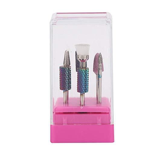 Pedicure bit, 7 stuks/set nagel boor kit nagelriem schoon verwijderen manicure tool, pedicure bit voor nagel cutter boor manicure bit slijpgereedschap