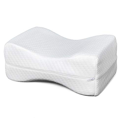 """Newzeroin Foam Memory Pillow Leg Rest Pillow with Memory Foam Top Leg Positioner Pillows Best for Sleeping, Rest or Elevation Foot and Ankle Injury and Recovery Wedge -11""""x 7"""" x 4.5"""" - US Stock"""