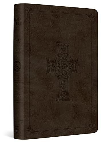 ESV Value Compact Bible (TruTone, Olive, Celtic Cross Design)
