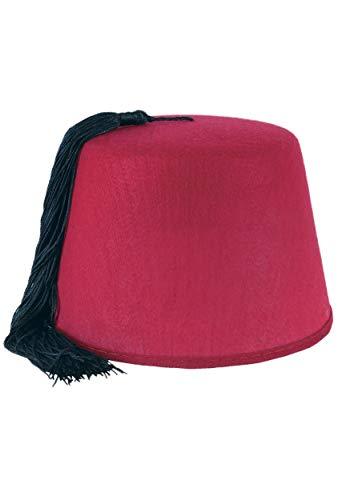 Beistle Deluxe Fez Hat Standard