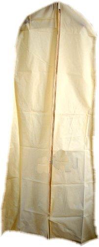HBCOLLECTION Custodia traspirante per abiti da sposa e abiti lunghi - XXL 183cm - Beige