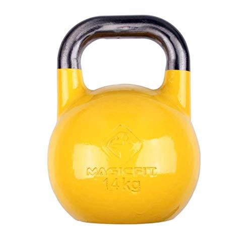 XHCP Kettlebells Out Fitness KettlebellsCast Steel, professionelle Krafttrainingsgeräte, Hantel Langhantel im Fitnessstudio -2 4-24 kg (Größe: 14 kg)