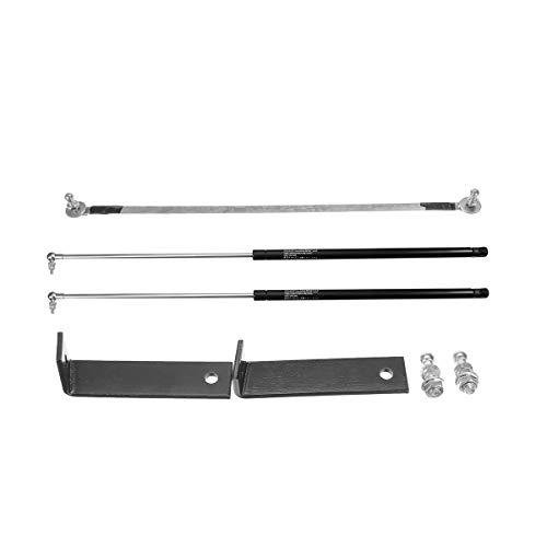 TAYDMEO 2X Auto Motorhaube Motorhaube Stoßdämpfer Federbein Bar Support Stange Arm Gasfeder, Für Peugeot 3008 5008 2017 2018