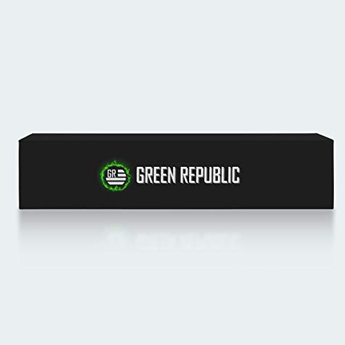 Green Republic Mixed Hemp Cigs - 5 Packs Featuring Shaboink, Sherbinski Gelato, Hemp Tokes, Stunna and Wild Hemp (One Pack Each)