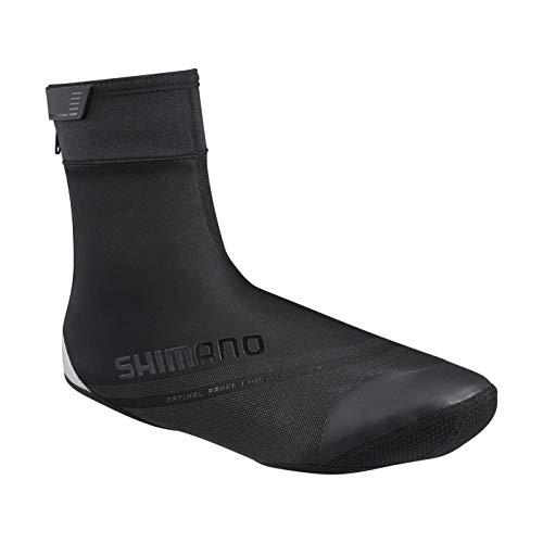 シマノ(SHIMANO) シューズカバー S1100R ソフトシェル シューズカバー ブラック S MY20