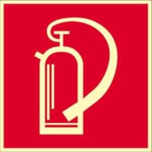 Bord brandblusser brandblusser HIGHLIGHT PVC 14,8 x 14,8 cm