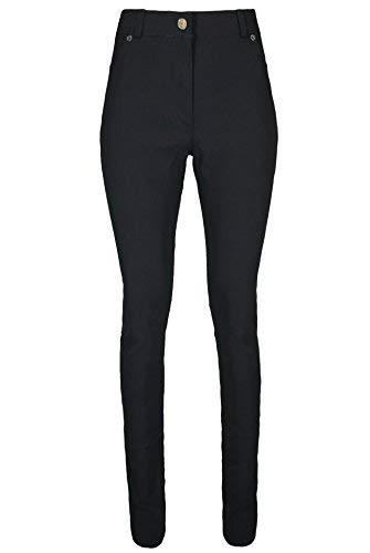 UC Girls Black Trousers School Wear Stretch Super Skinny Pants Stretch 9-16 Years (13-14 Years)