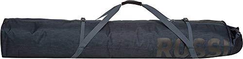 Rossignol Unisex's Premium Gepolsterte Taschen, ausziehbar, 160-210 cm, Schwarz, 2 Stück