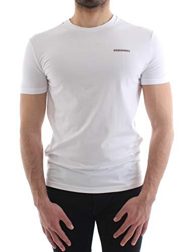 DSQUARED2 heren T-shirt Mod. D9M203040 100 wit