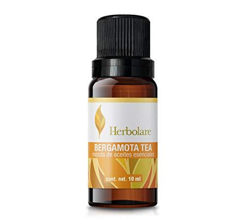 Aceite esencial Herbolare Bergamota Tea 15 ml. Deliciosa sinergia para elevar el animo y la concentración.