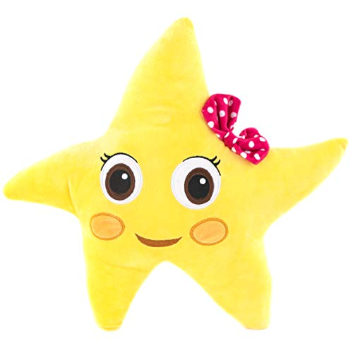 Jay Franco Moonbug Little Baby Bum Twinkle The Star Plush Stuffed Pillow Buddy - Super Soft Polyester Microfiber, 14 inch (Official Moonbug Product)
