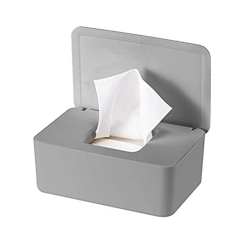 YUNJIJA Feuchttücher-Box,Toilettenpapier Box,Kunststoff Spender,Baby Feuchttücherbox,Baby Fall,Tissue Bild