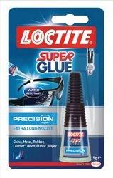 Loctite Super Glue Sekundenkleber-Präzision, Mit Extra Lange Tülle, 5 G, 80001611