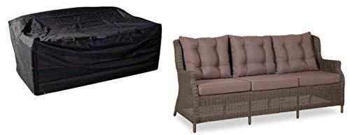 HBCOLLECTION Housse pour canapé/Banc de Jardin 3 Places Medium Gamme Confort
