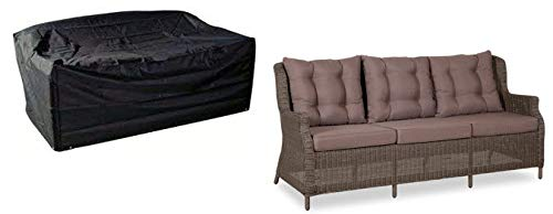 Deluxe Polyestere Copri, Telo di copertura per sofà, panchine 3 posti dimensioni medie