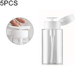 Poder de riego de 5 PCS portátil Empuje hacia Abajo dispensador de la Bomba de líquido de la Botella vacía de la Botella Recipiente de plástico, 150ml Botella de Spray