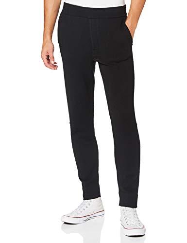 Falke Pantalones de chándal para Hombre 60121, Hombre, 60121, Negro, Small