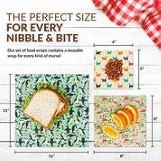 BEE Zero Waste Amaizing Wraps Wiederverwendbare Pflanzenbasis, veganfreundlich, Wachs-Lebensmittelverpackungen