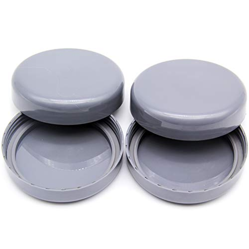 4 Pack Cup Lids Replacement Parts for 600W 900W Nutribulle Replacement Stay Fresh Resealable Accessory Parts W/Gasket